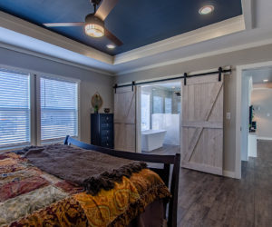 master bedroom in the house model big spur made by pratt homes tyler texas