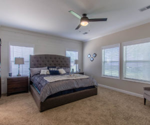 master bedroom at the bailey house made by pratt homes tyler tx