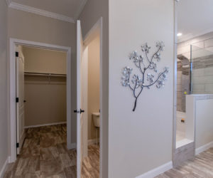 shower at the bailey house made by pratt homes tyler tx