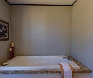 master bathroom of the house model leo made by pratt homes tyler texas