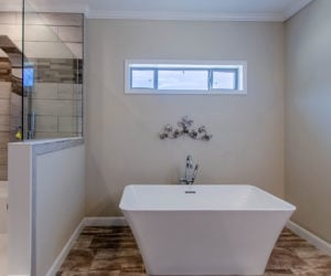 master bath at the bailey house made by pratt homes tyler tx