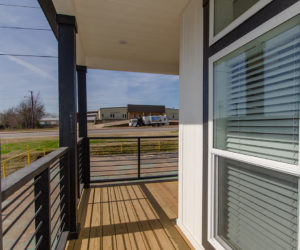 porch of house model daisy mae made by pratt homes tyler texas
