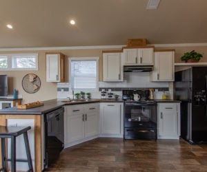 kitchen details in house model cottage 16 2/1 made by pratt homes tyler texas