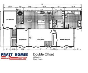 Double Offset Floor Plan