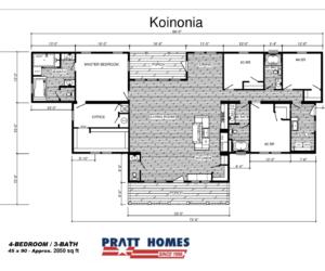 Koinonia Floor Plan