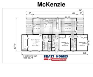 floor plans for McKenzie house made by pratt homes tyler tx