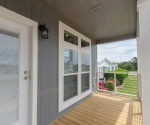 Front Porch at the McKenzie house made by Pratt Homes Tyler