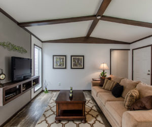 living room at the canal house made by pratt homes tyler tx