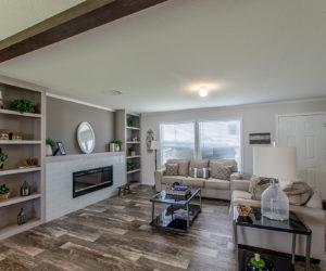 living room in regan house made by prett homes form tyler tx
