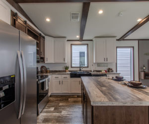 kitchen at the canal house made by pratt homes tyler tx