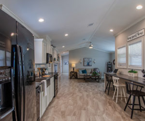 kitchen in the blake house made by pratt homes tyler tx