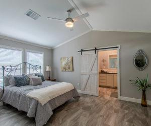 master bedroom in the blake house made by pratt homes tyler tx