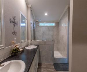 master bath in the blake house made by pratt homes tyler tx