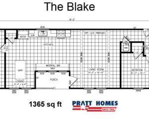 home floor plans for the blake house made by pratt homes tyler tx